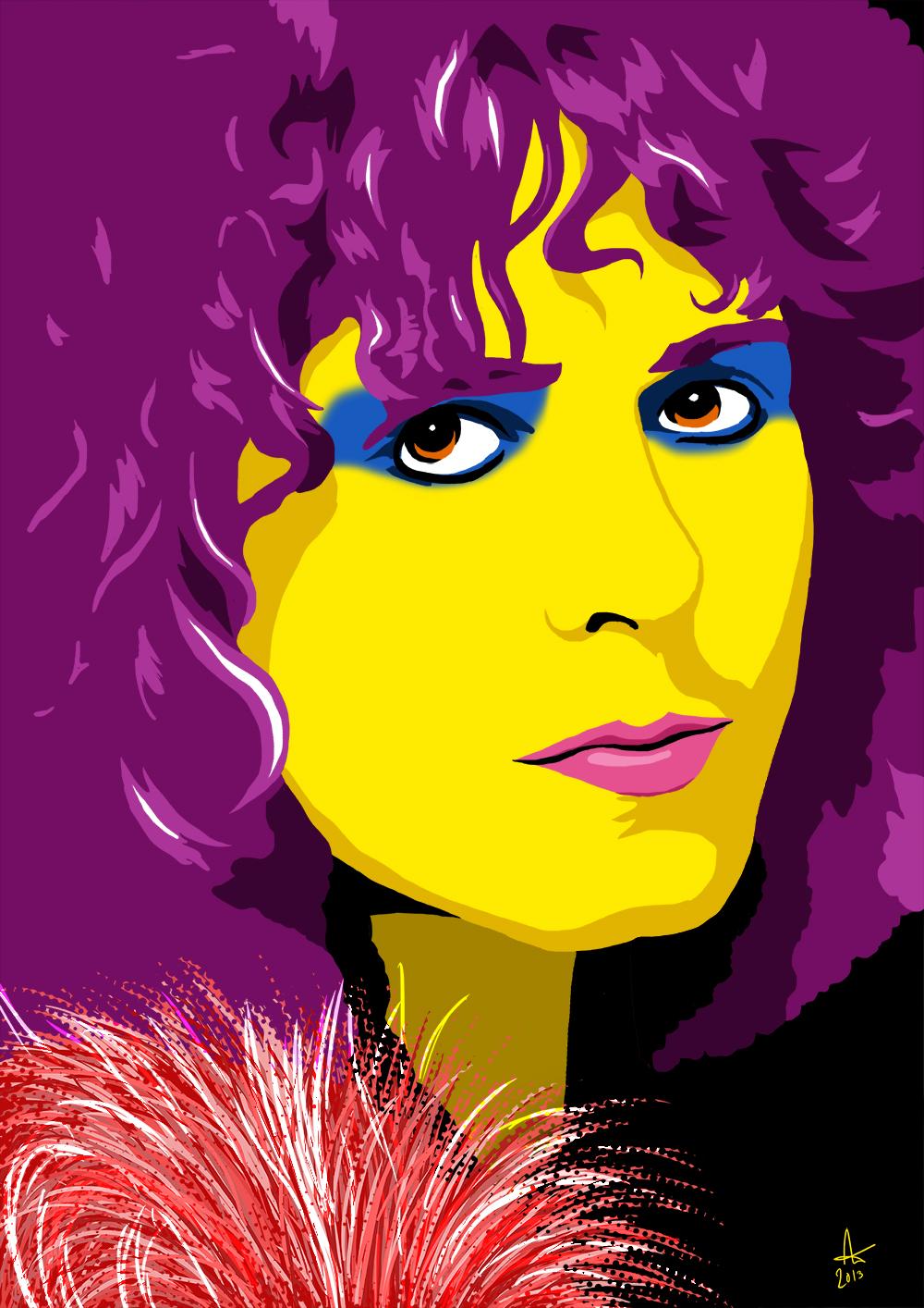 Marc Bolan Art Graphics Alex